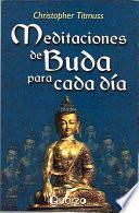 Libro de Meditaciones De Buda Para Cada Dia