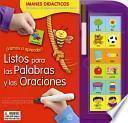 Libro de Vamos A Aprender! Listos Para Las Palabras Y Oraciones/ Ready For Words And Sentences
