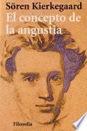 Libro de El Concepto De La Angustia