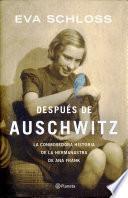 Libro de Después De Auschwitz