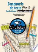 Libro de Comentario De Texto Fácil Para Bachillerato