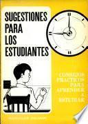 Libro de Sugestiones Para Los Estudiantes
