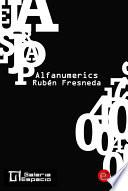 Libro de Alfanumerics