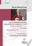 Libro de La Interpretación Musical En Torno A 1750