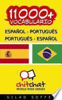 Libro de 11000+ Español   Portugués Portugués   Español Vocabulario