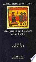 Libro de Arcipreste De Talavera O Corbacho