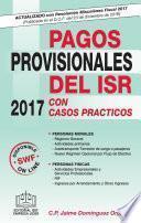 Libro de Pagos Provisionales Del Isr 2017