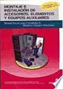 Libro de Montaje E Instalacion De Accesorios, Elementos Y Equipos Auxiliares