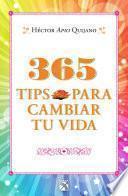 Libro de 365 Tips Para Cambiar Tu Vida