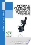 Libro de Ergonomía En Las Operaciones De Entutorado De Cultivos De Invernadero