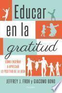 Libro de Educar En La Gratitud