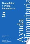 Libro de Geopolítica Y Ayuda Humanitaria