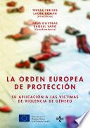 Libro de La Orden Europea De Protección