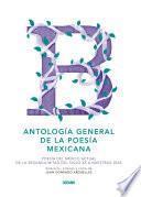 Libro de Antología General De La Poesía Mexicana