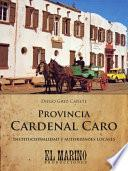 Libro de Provincia Cardenal Caro