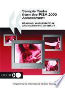 Libro de Sample Tasks From The Pisa 2000 Assessment