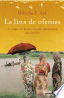 Libro de Lista De Ofensas (versión Hispanoamericana)