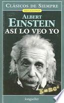 Libro de Asi Lo Veo Yo / As I See It