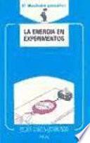 Libro de La Energía En Experimentos