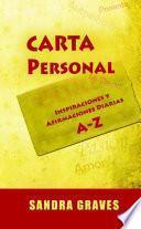 Libro de Carta Personal