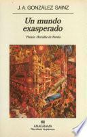 Libro de Un Mundo Exasperado