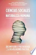 Libro de Ciencias Sociales Y Naturaleza Humana