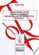 Libro de Constantinos Cavafis Y Jaime Gil De Biedma
