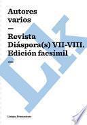 Libro de Revista Diaspora(s) Vii Viii. Edición Facsimil