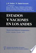 Libro de Estados Y Naciones En Los Andes