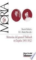 Libro de Memorias Del General Thiébault En España (1801 1812)