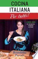 Libro de Cocina Italiana Per Tutti