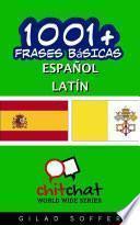 Libro de 1001+ Frases Básicas Español   Latín