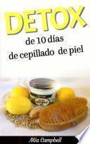 Libro de Detox De 10 Días De Cepillado De Piel