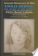 Libro de Emilia Bernal