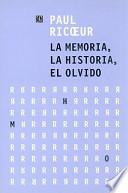 Libro de La Memoria, La Historia, El Olvido