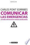Libro de Comunicar Las Emergencias