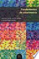 Libro de Fundamentos De Colorimetría