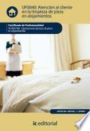 Libro de Atención Al Cliente En La Limpieza De Pisos En Alojamientos. Hota0108