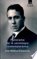 Libro de Panorama De La Sociología Contemporánea