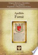 Libro de Apellido Forné