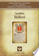 Libro de Apellido Belloví