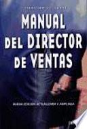 Libro de Manual Del Director De Ventas