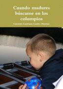 Libro de Cuando Madures Buscame En Los Columpios