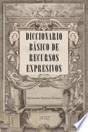 Libro de Diccionario Básico De Recursos Expresivos