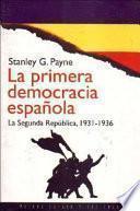 Libro de La Primera Democracia Española