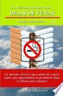 Libro de El Método Rápido Para Dejar De Fumar