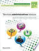 Libro de Técnicas Administrativas Básicas