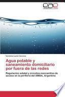 Libro de Agua Potable Y Saneamiento Domiciliario Por Fuera De Las Redes