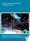 Libro de Uf1250   Conformación De Elementos Metálicos