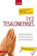 Libro de Comentario Bíblico Con Aplicación Nvi 1 Y 2 Tesalonicenses